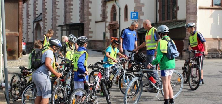 Kinderferienprogramm – Fahrradtour