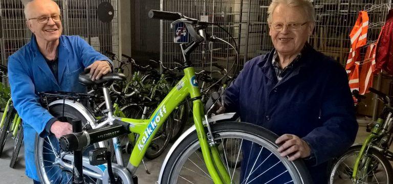 verkehrssichere Fahrräder für die Schüler