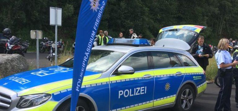 Motorradprävention Polizeipräsidium und Partner